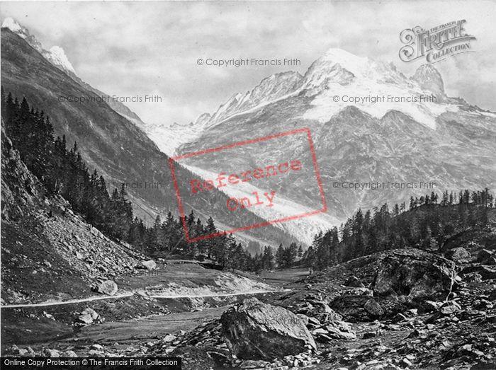 Photo of Trient, Aiguille Du Verde, Tete Noire c.1860