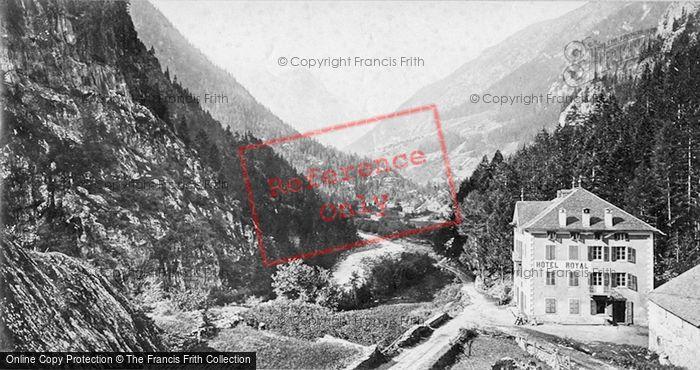Photo of Trient, Tete Noire Valley c.1872