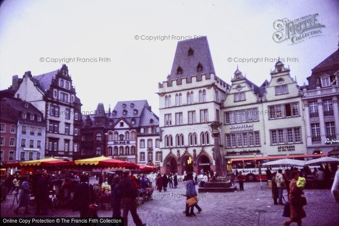 Photo of Trier, The Market Square c.1985