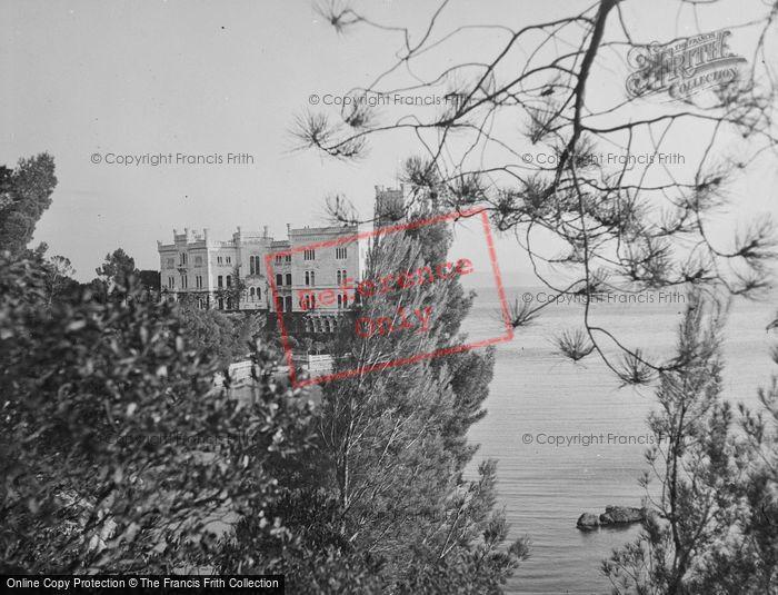 Photo of Trieste, Castello Miramare 1938