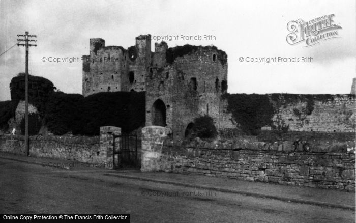 Photo of Trim, Castle 1957