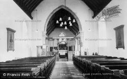 Trimingham, Church Interior c.1955