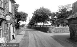 Trimingham, Church Street c.1955