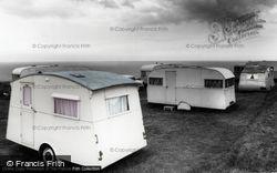 Trimingham, Trimingham House Caravan Camp c.1955