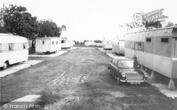 Trimingham, Trimingham House Caravan Camp c.1965