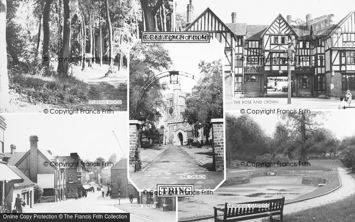 Photo of Tring, Composite c.1955