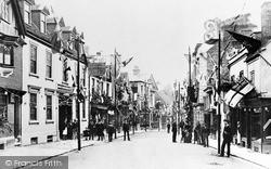 Tring, High Street 1897