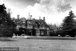 Tring, Pendley Manor c.1955