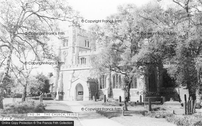 Photo of Tring, St Peter And St Paul's Church c.1960
