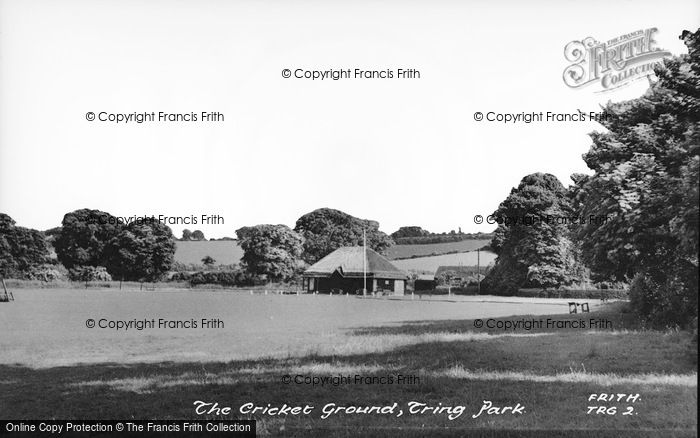 Photo of Tring, The Cricket Ground c.1950