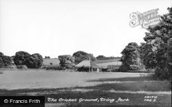 Tring, The Cricket Ground c.1950