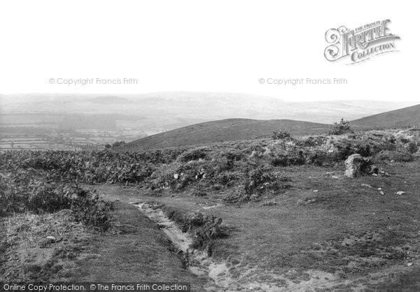 Photo of Triscombe, The Triscombe Stone 1898