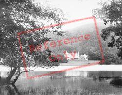 Hotel And Loch Achray c.1930, Trossachs