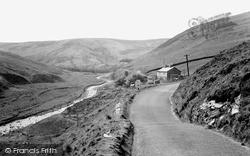 Smeltmill Cottages c.1950, Trough Of Bowland