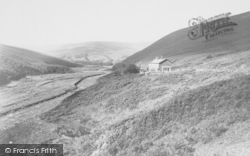Smeltmill Cottages c.1955, Trough Of Bowland