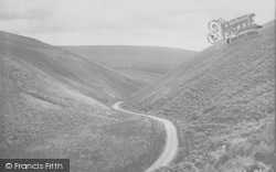 The 'feather Bed' And Border With Yorkshire 1921, Trough Of Bowland