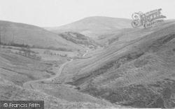 The View From Boundary Hill c.1950, Trough Of Bowland