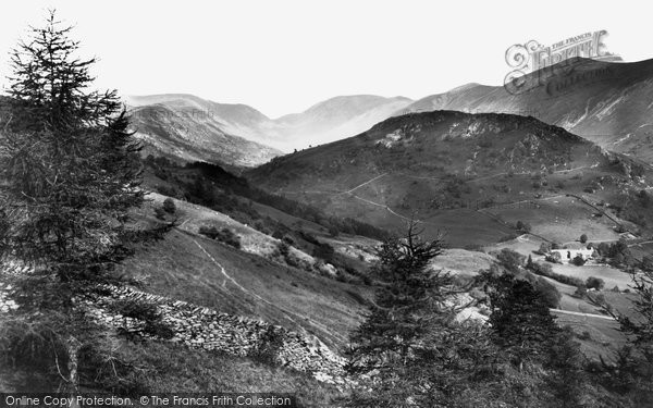 Photo of Troutbeck, the Valley c1880, ref. 12523