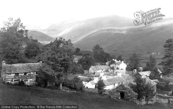 Photo of Troutbeck, The Village c.1880
