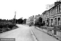 Trowbridge, Bradford Road 1907