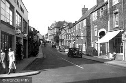 Trowbridge, Castle Street c.1955