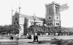 Trowbridge, Holy Trinity Church 1900