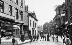 Trowbridge, Silver Street 1900