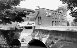 Trowbridge, The Bridge And Bowyer's Factory c.1965