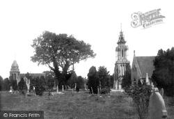 Trowbridge, The Cemetery 1900