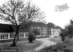 Trowbridge, The Girls High School c.1955