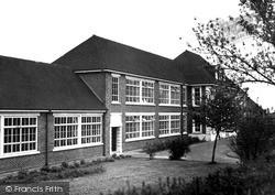 Trowbridge, The Girls High School, Gloucester Road c.1965