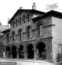 Trowbridge, The Market House 1907