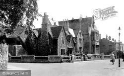Trowbridge, The Old Grammar School c.1955