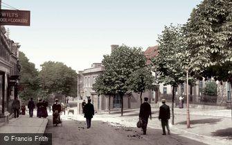 Trowbridge, the Parade 1900