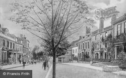 Trowbridge, The Parade c.1908