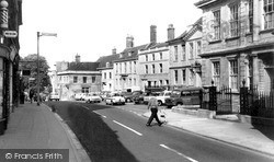 Trowbridge, The Parade c.1965