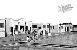 Trowbridge, The Swimming Pool c.1955