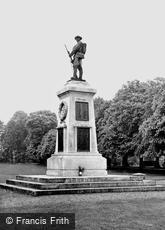 Trowbridge, the War Memorial c1955