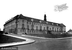 Trowbridge, Wiltshire County Council Offices c.1950
