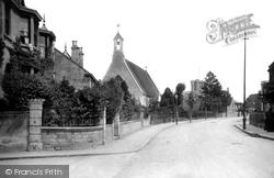 Trowbridge, Wingfield Road 1907