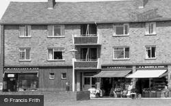Anstey Way Shops And Doctors Surgery c.1960, Trumpington