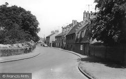 Church Lane c.1960, Trumpington