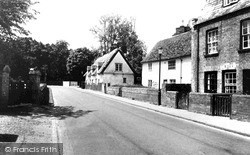 Grantchester Road c.1960, Trumpington