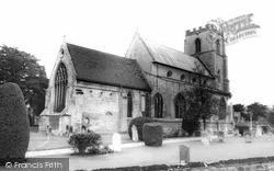 St Mary And St Michael's Church c.1960, Trumpington