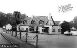 The Unicorn Inn c.1960, Trumpington