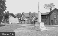 War Memorial c.1960, Trumpington