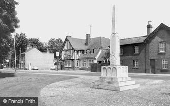 Trumpington, War Memorial c1960