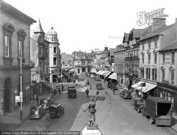 Truro, Boscawen Street 1940