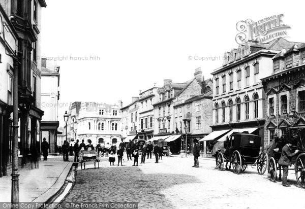 Truro, Boscawen Street c1885
