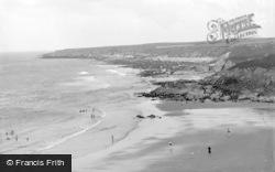 Tudweiliog, The Coast From Towyn Beach 1936